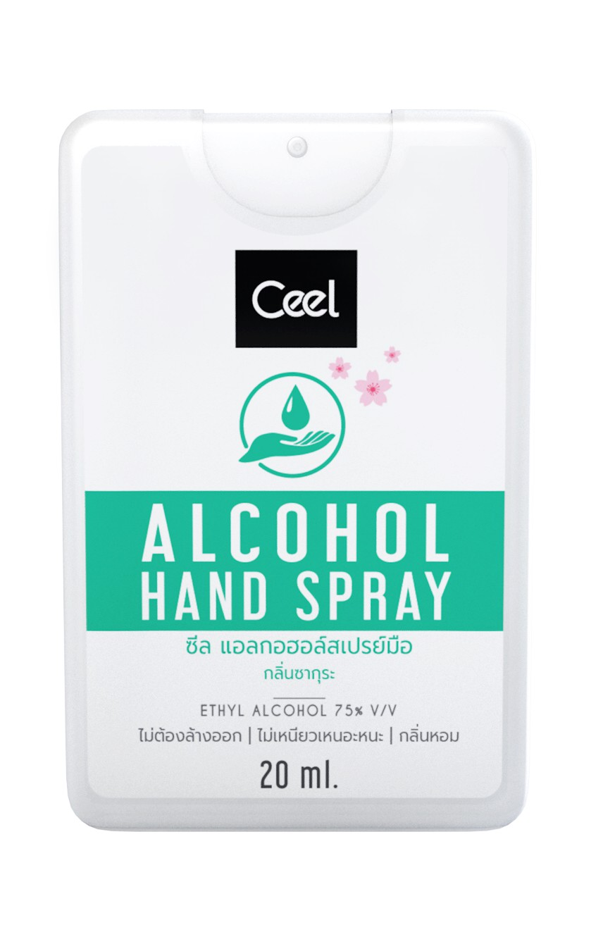 CEEL ALCOHOL HAND SPRAY